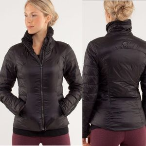 Lululemon Down Town Puffy Jacket Black 10